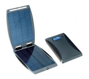 solární nabíječka na mobilní telefon