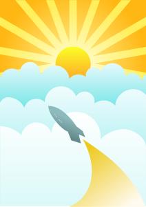 solární pohon