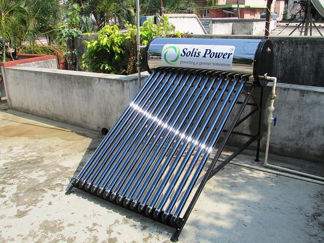 solární kolektor